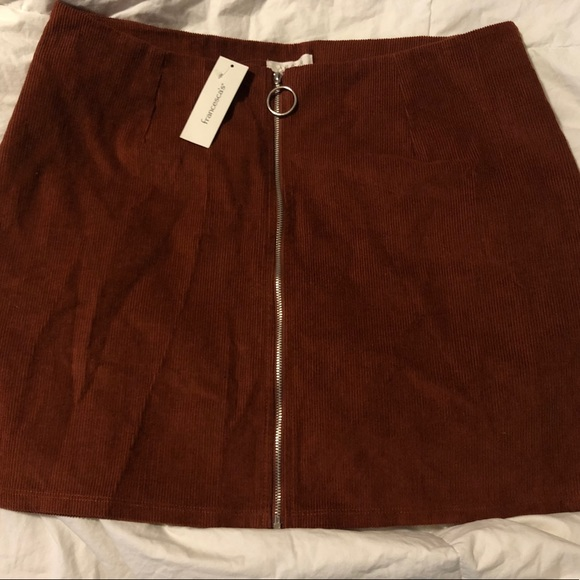 Francesca's Collections Dresses & Skirts - Burnt Orange Mini Skirt (NEW)